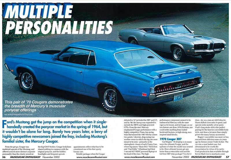 magazine publication